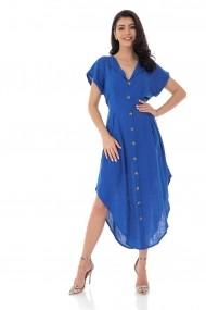 Rochie scurta Roh Boutique cambrata din In DR4138 albastra