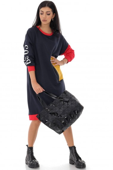 Tunica Roh Boutique oversize, trendi, Bleumarin DR4211 bleumarin