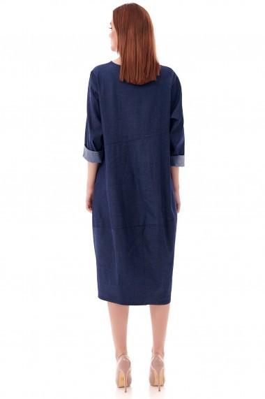 Rochie midi Roh Boutique, oversize DR4222 denim