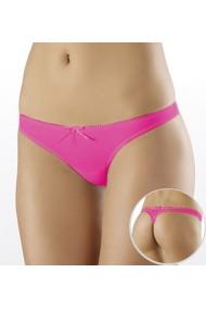 Slipi tip tanga - bikini Milavitsa cu talie joasa Roz