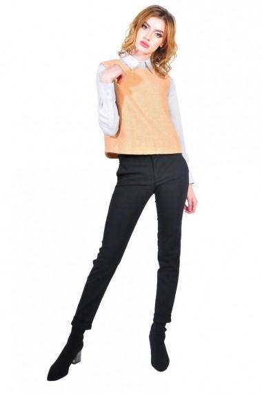 Vesta RVL Fashion oranj de dama