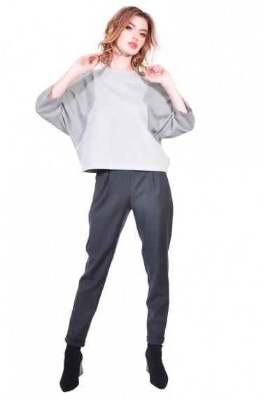 Bluza RVL Fashion de dama, gri