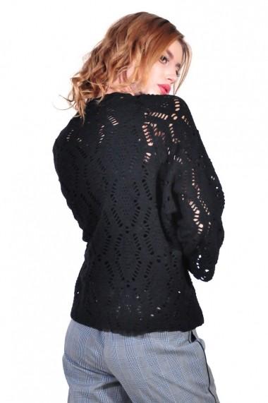 Bluza RVL Fashion de dama, negru