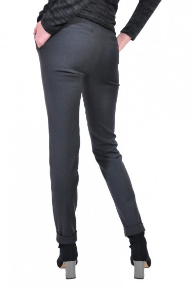 Pantalon RVL Fashion de dama, gri inchis