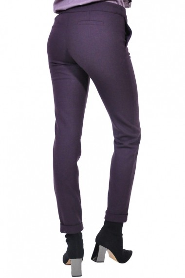Pantalon RVL Fashion de dama, mov inchis