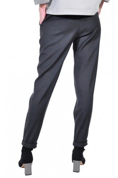 Pantalon RVL Fashion rvl D2613-gri inchis gri