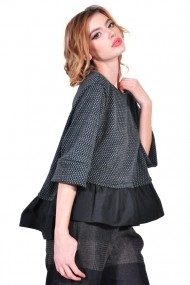 Bluza RVL Fashion de dama, gri rvl_D2615-gri gri