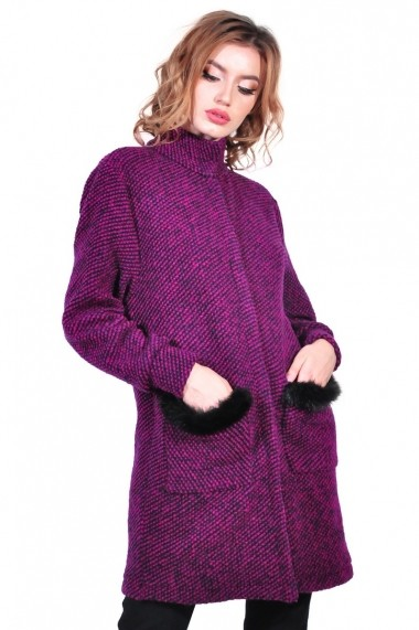 Cardigan RVL Fashion de dama, roz