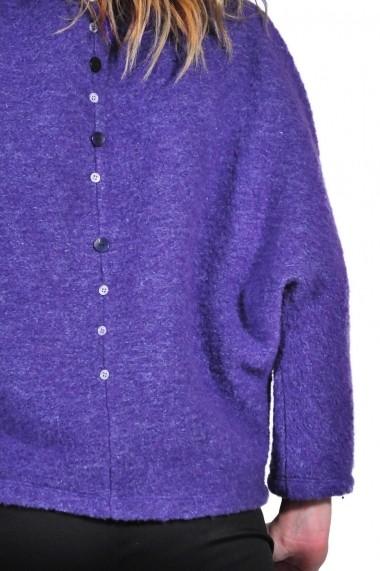 Bluza RVL Fashion mov de dama