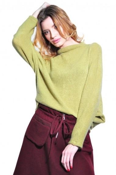 Bluza RVL Fashion de dama, verde