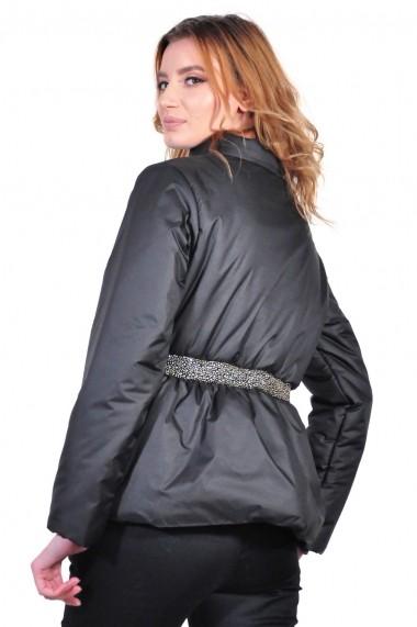 Geaca RVL Fashion neagra scurta