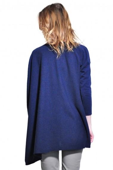 Bluza RVL Fashion asimetrica de dama, Bleumarin