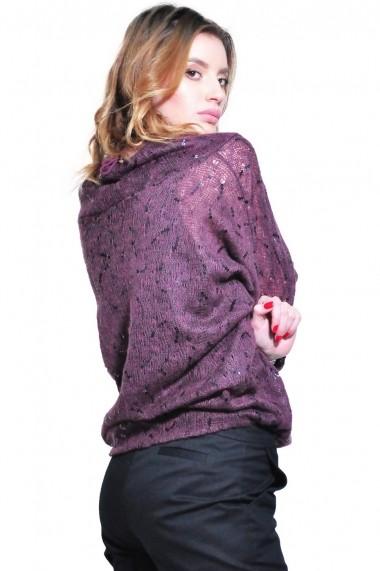 Bluza RVL Fashion de dama, mov rvl_D2638-mov mov
