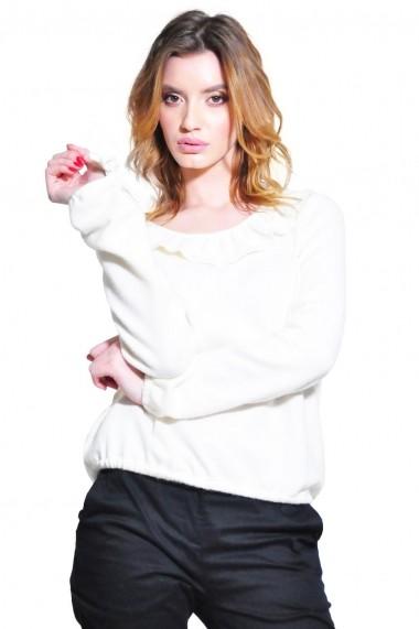 Bluza RVL Fashion de dama, alb rvl_D2642-alb alb negru