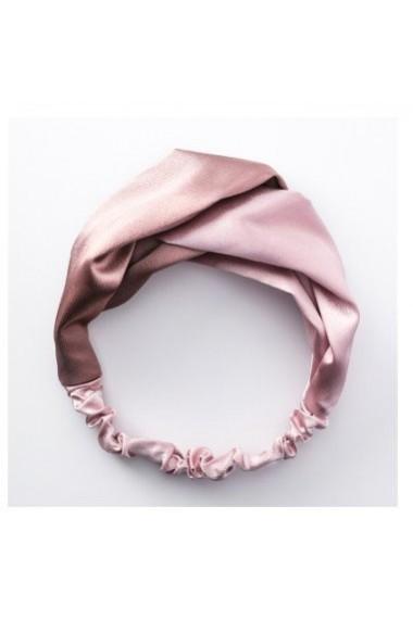 Bentita din matase naturala Pink