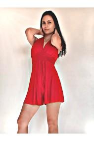 Salopeta scurta dama Red Fever rosie