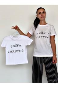 Tricouri Mama Fiica I need coffee / chocolate