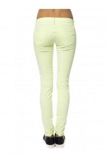 Pantaloni skinny Gas SBV-355531 020600-2669 FLUO GREEN Verde - els