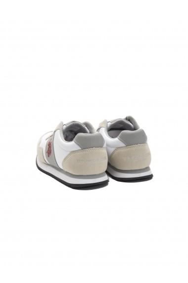 Pantofi sport U.S. Polo SBV-NOBIW4197S6 NH1A-Bianco White Alb