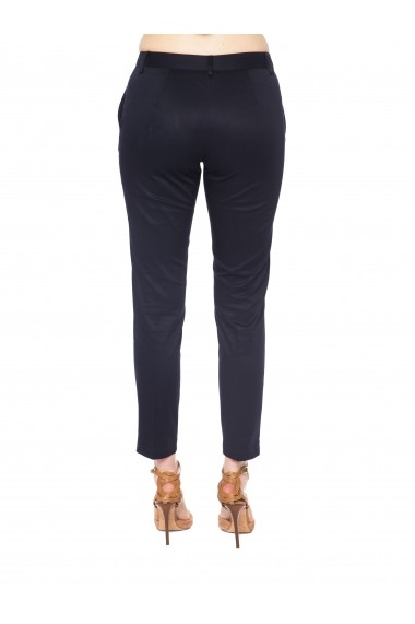 Pantaloni Trussardi P004 500 ANTIGNANO-Blu Navy Bleumarin - els