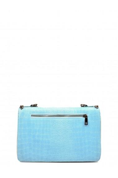 Geanta de umar Carla Ferreri SBV-SS18 CF 8045-CELESTE Albastru