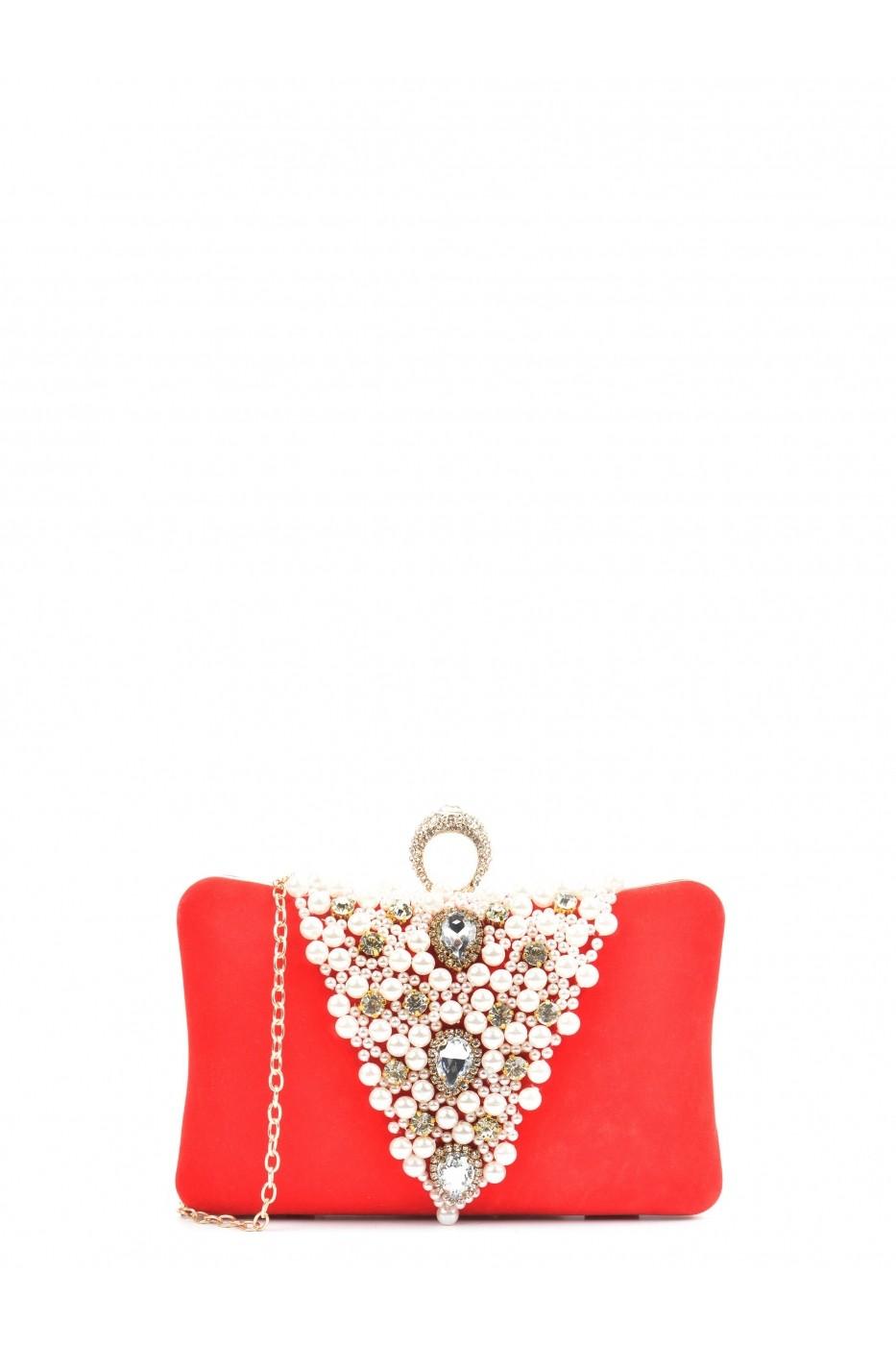 a5c4eaa71111 Carla Ferreri Borítéktáska SBV-SS18_CF_PO94-ROSSO Piros - FashionUP!