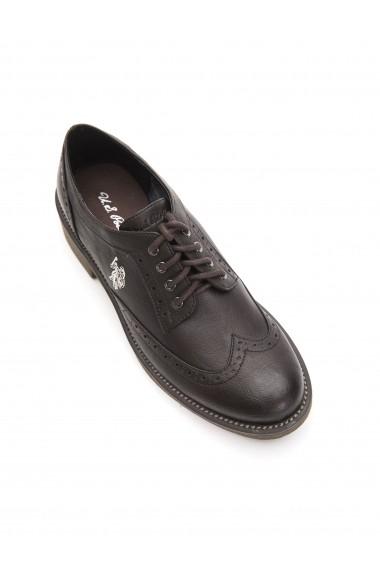 Pantofi U.S. Polo SBV-VERVE4167W7 Y1-DK BROWN Maro