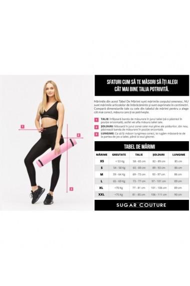 Colanti sport anticelulitici cu push up Sugar Couture