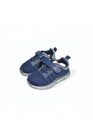 Pantofi sport LED blue