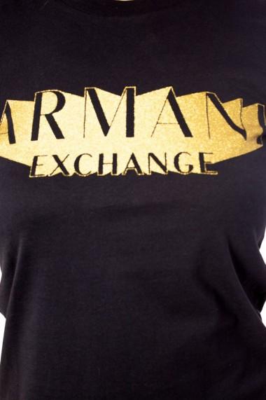 Tricou Armani Exchange Black
