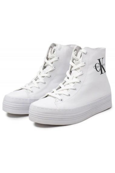 Pantofi Sport Calvin Klein Canvas White