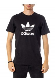 Tricou Adidas Black Trefoil