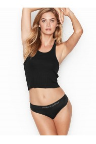 Slip Victoria`s Secret Perfect Comfort Panty Tong Black