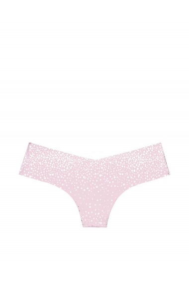Slip Victoria`s Secret No Show Thong Panty Illusion Purple