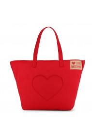 Geanta Love Moschino Red Heart