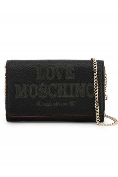 Geanta plic Love Moschino Black