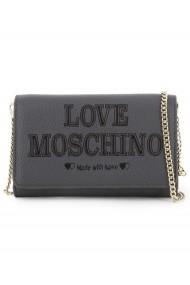 Geanta plic Love Moschino Cool Grey