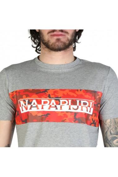 Tricou Napapijri Light Grey