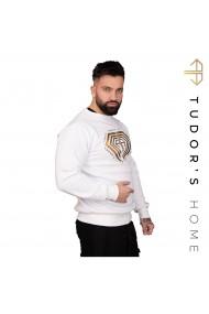 Bluza Barbati TUDOR`SHOME Alb