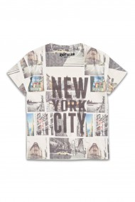 Tricou baietei New York