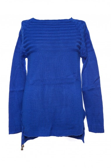 Pulover Tinka basic albastru
