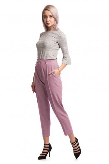 Pantaloni paperbag Tinka carouri