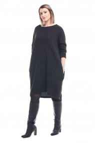 Rochie Tinka midi de zi tricotata