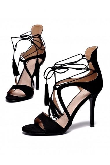 Sandale cu toc Top Secret TOP-SBU0619CA Negru