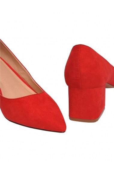 Pantofi cu toc Top Secret TOP-SBU0647CE Rosu