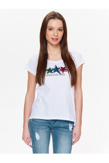 Tricou Top Secret TOP-SPO3440BI alb