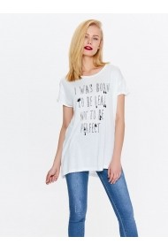 Tricou Top Secret TOP-SPO3444BI Alb