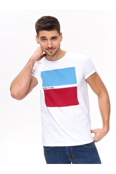 Tricou Top Secret TOP-SPO4024BI Alb