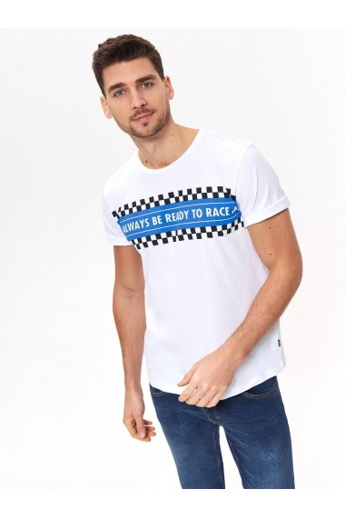 Tricou Top Secret TOP-SPO4031BI Alb