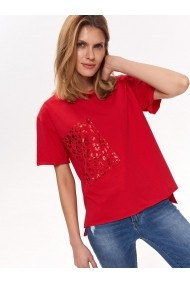 Tricou Top Secret TOP-SPO4110CE Rosu